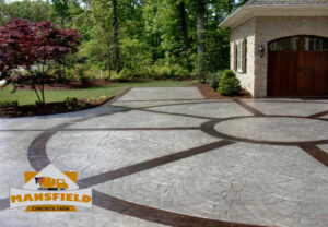 decorative concrete - mansfield concrete crew